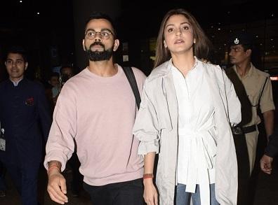 Virat Kohli and Anushka Sharma | GETTY