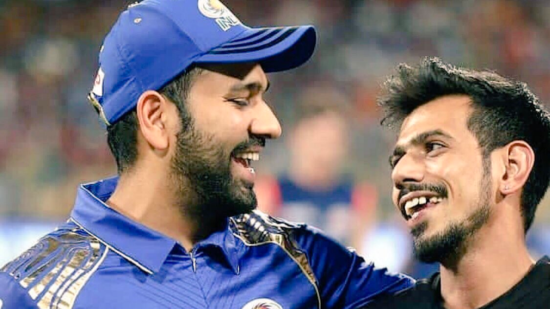 Rohit Sharma posts a hilarious birthday wish for Yuzvendra Chahal