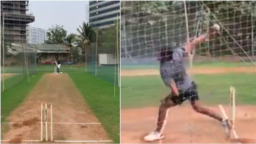 WATCH: Hardik Pandya is back on cricket field; eyeing a comeback against Australia