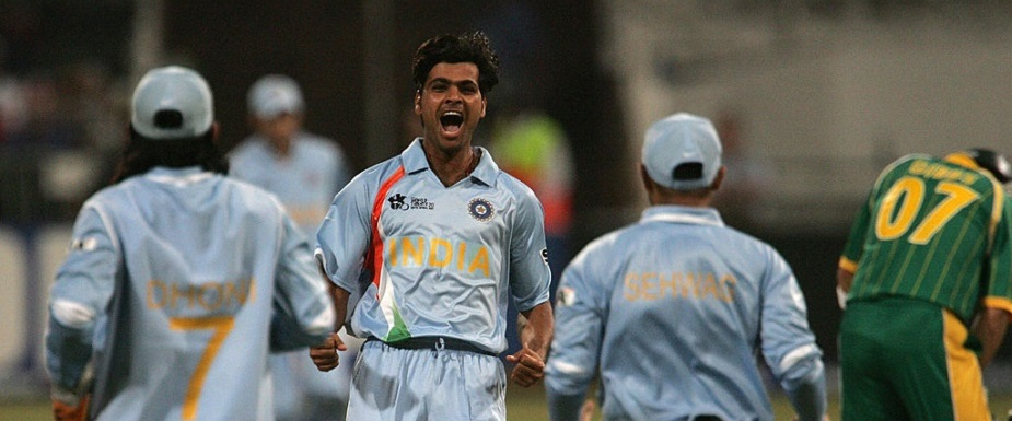 RP Singh picked 4/13 against South Africa in the 2007 World T20