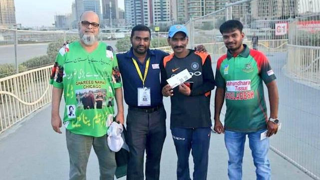 Asia Cup 2018: Pakistan's Bashir Chacha sponsors Indian superfan Sudhir Gautam's Asia Cup trip