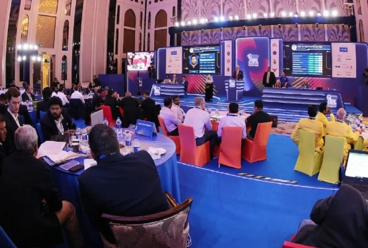The IPL 2021 auction might happen on Feb 18