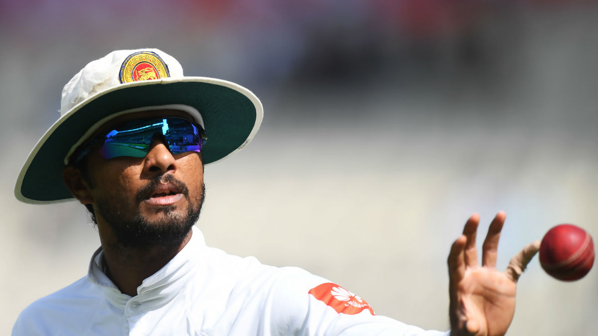 WI v SL 2018: Dinesh Chandimal found guilty of altering condition of the ball
