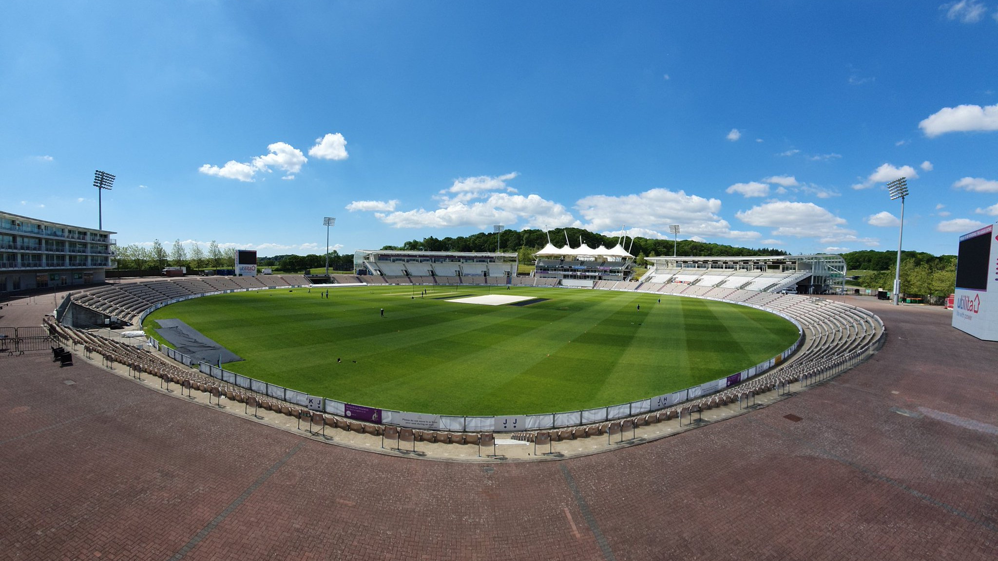 """""""Perfect setup for training,"""" BCCI posts picture of Ageas Bowl as Team India gets set for first training session"""