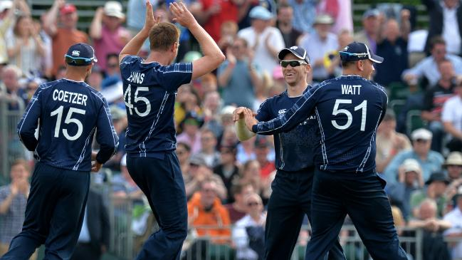 Twitter erupts in adulation as Scotland creates history by beating England in the one-off ODI