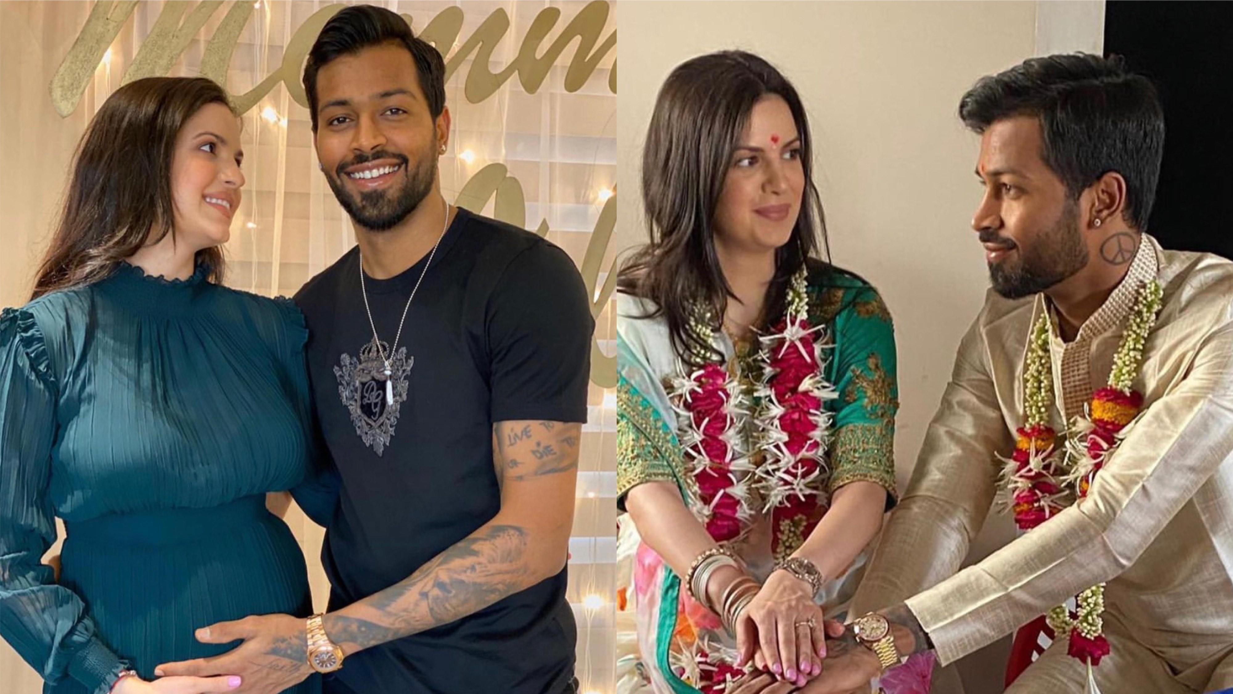 Hardik Pandya announces pregnancy of fiancee Natasa Stankovic