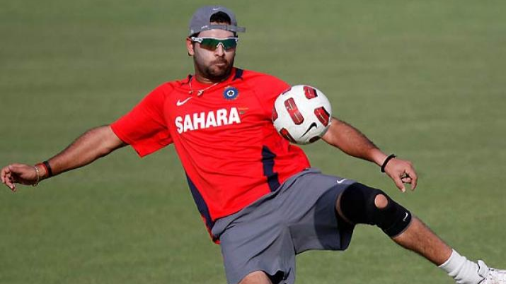Watch: Yuvraj Singh chooses his FIFA 2018 winner