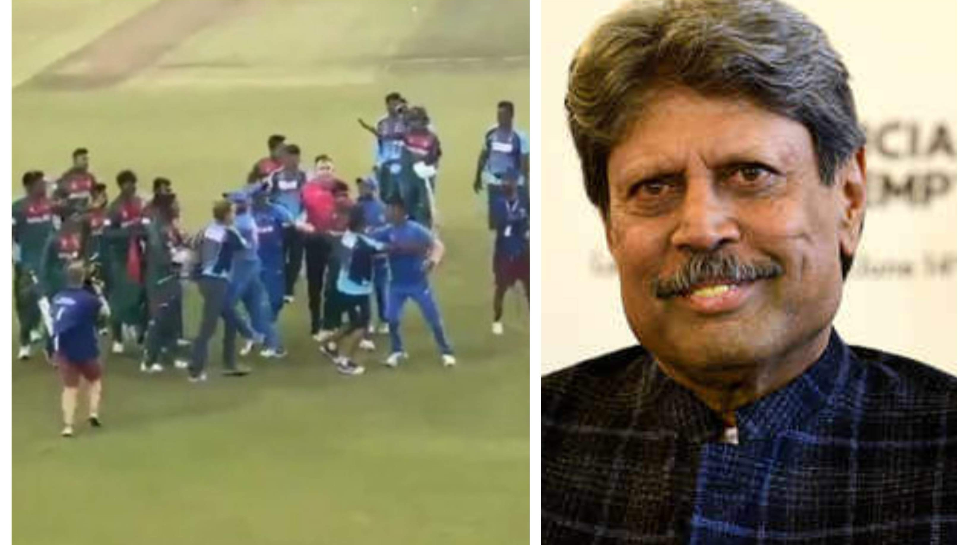 Kapil Dev shares his two cents on Under-19 World Cup final brawl