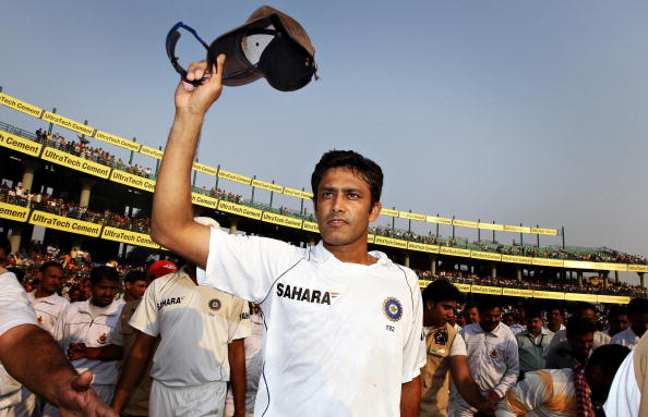 The legend of the great Anil Kumble must serve as an inspiration for India's spinners. (Getty)