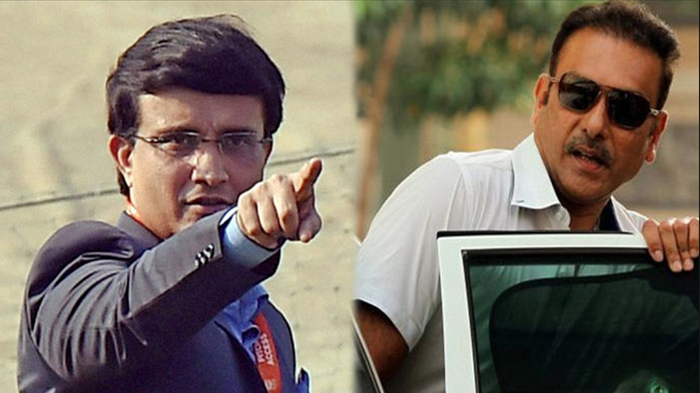 WATCH - Sourav Ganguly replies in kind to Ravi Shastri over his story of punctuality