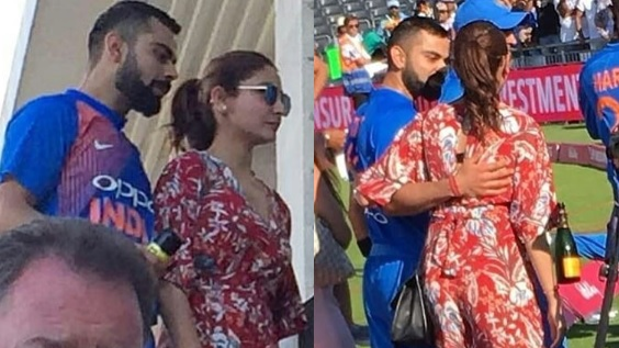 WATCH: Virat Kohli waves to fans after being spotted with wife Anushka Sharma