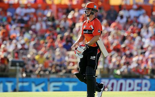 Mitchell Marsh had a disappointing outing against India in MCG  | Getty Images