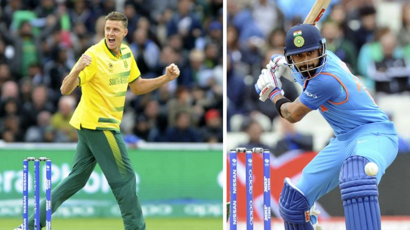 Sa v IND 2018: Watch- Virat Kohli's kind gesture to Morne Morkel touches fans' heart
