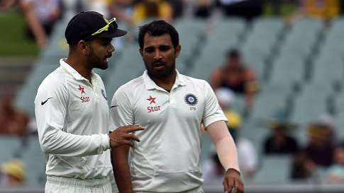 Mohd Shami praised Virat Kohli for backing his players to the hilt