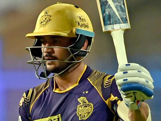 Pandey has scored over 1500 runs for KKR. (AFP)