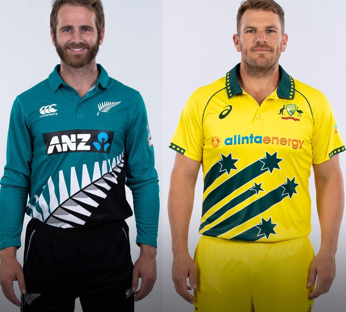 Aus V Nz 2020 In Pics New Zealand Cricketers Sport Retro Jersey Ahead Of Australia Odi Series