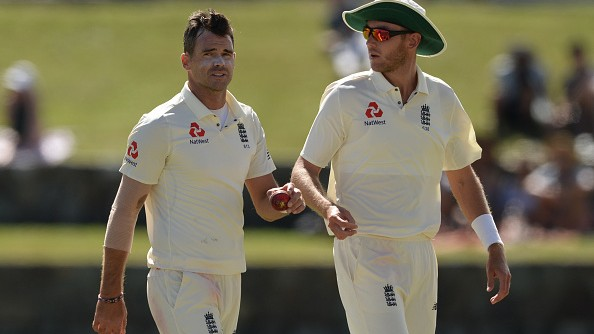 James Anderson shares thought on his first meeting with Stuart Broad