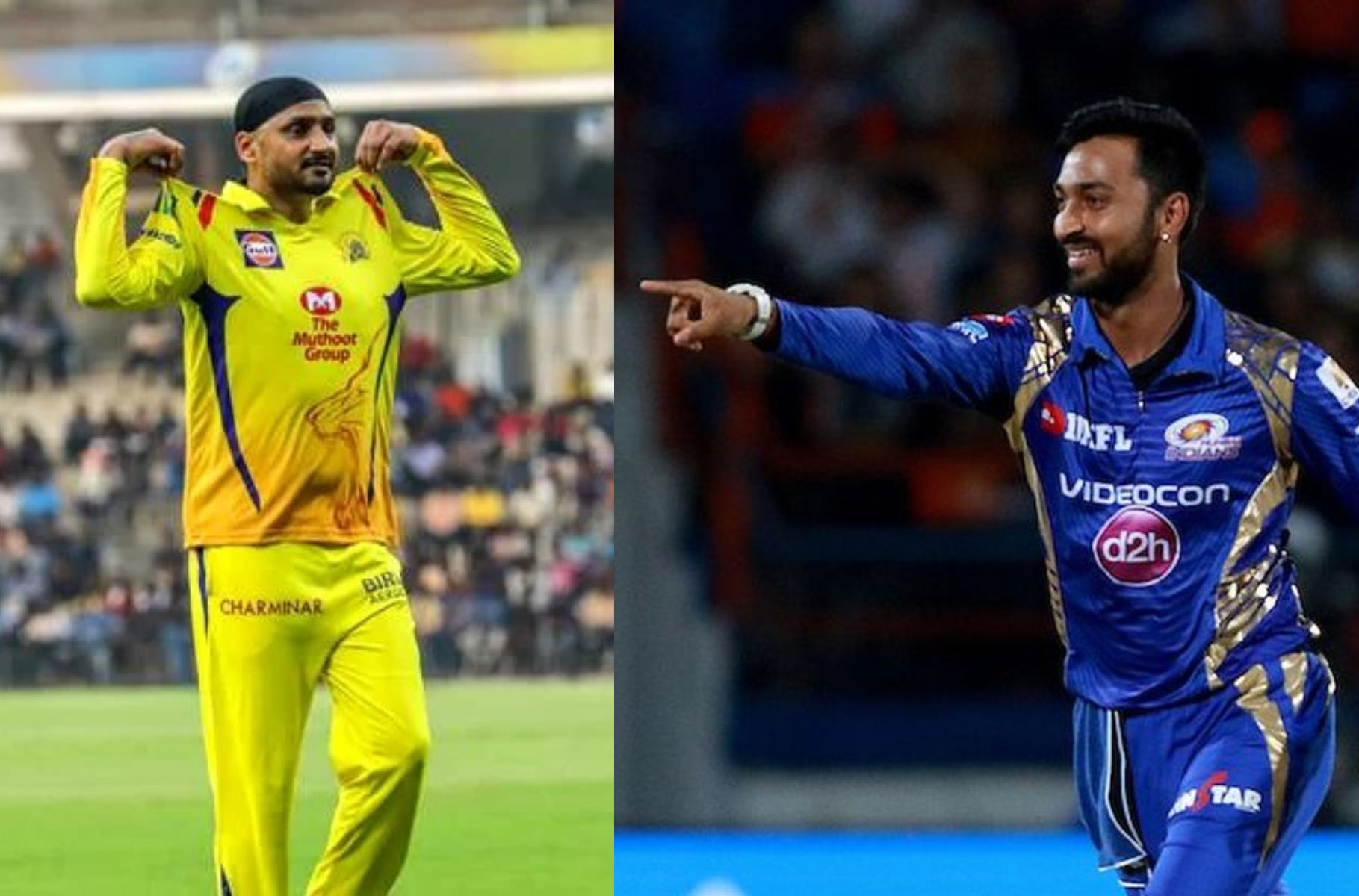 Harbhajan Singh's experience compliments the talent of Krunal Pandya in spin department | AFP