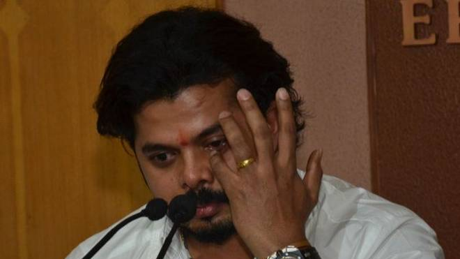 BCCI denies Sreesanth's appeal to play county cricket to relax life ban