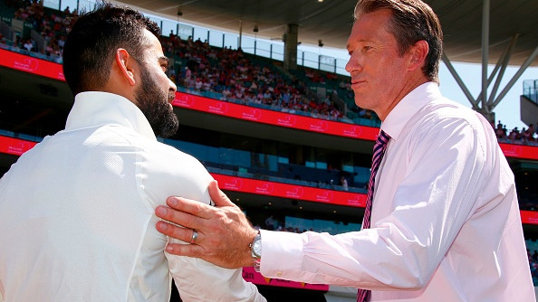 AUS v IND 2018-19: Glenn McGrath moved by Virat Kohli's special gesture for Pink Test
