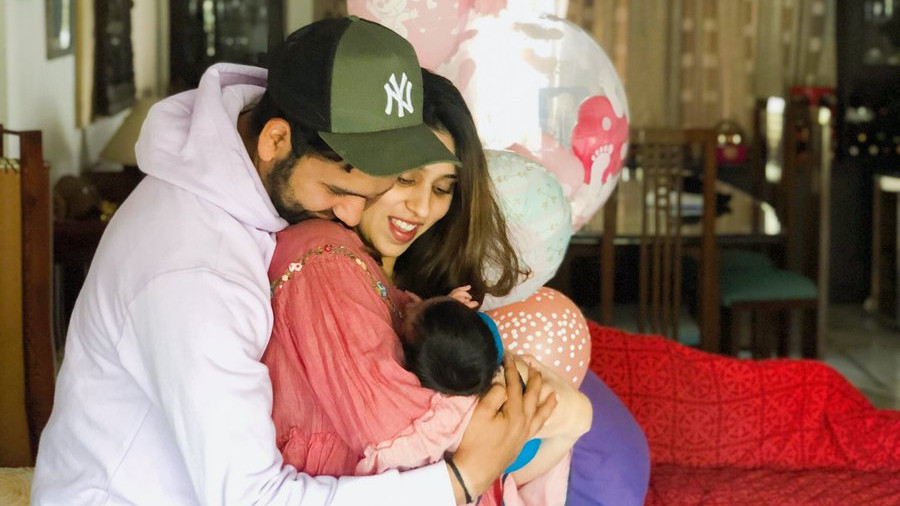 Rohit Sharma reveals the name of his daughter