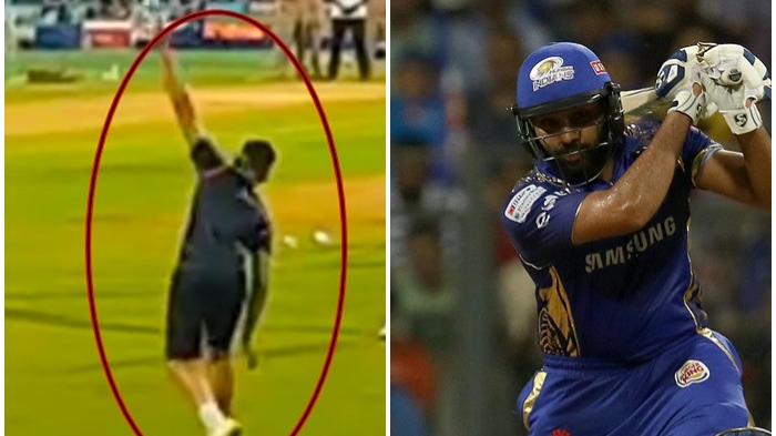 IPL 2018 : देखिये कैसे अर्जुन तेंदुलकर ने रोहित शर्मा को बैंगलोर के खिलाफ 94 रनो की मैच जिताऊ पारी खेलने में की थी मदद