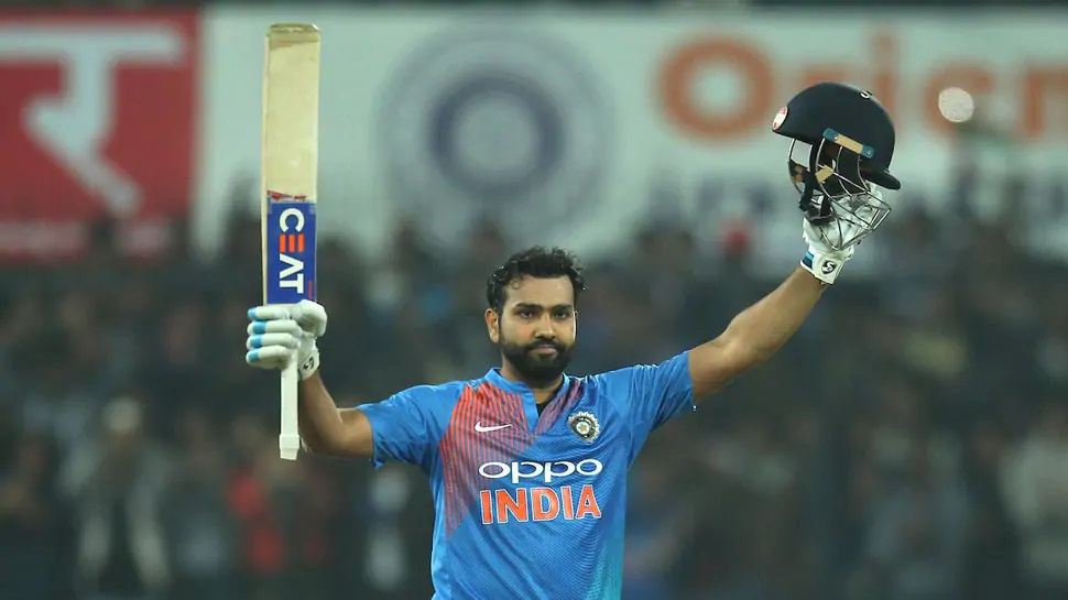 Rohit Sharma holds the joint record of fastest century in T20Is in 35 balls | AFP