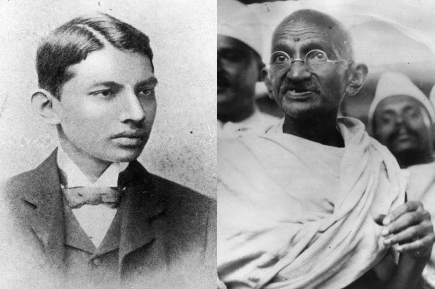 Mahatma Gandhi was born on October 2, 1869
