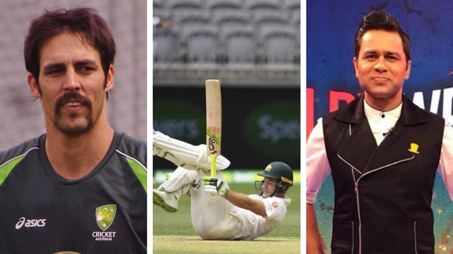 AUS v IND 2018-19: Aakash Chopra and Mitchell Johnson get involved in war of words on Perth pitch