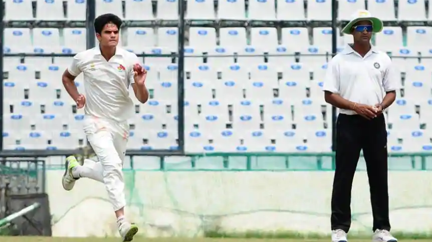 Arjun Tendulkar dismantles Gujarat with his five-wicket haul in Vinoo Mankad Trophy