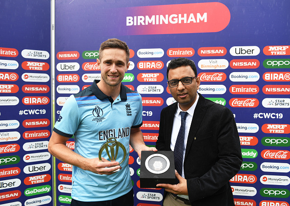 Man of the Match Chris Woakes hailed team efforts against Australia | Getty Images