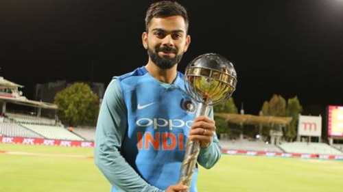 Watch – Virat Kohli presented with the ICC Test Championship Mace by Graeme Pollock and Sunil Gavaskar