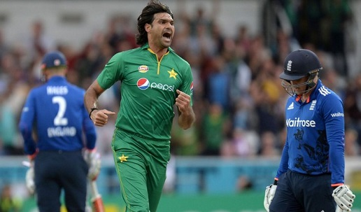Mohammad Irfan made his international debut against England in 2010 | AFP