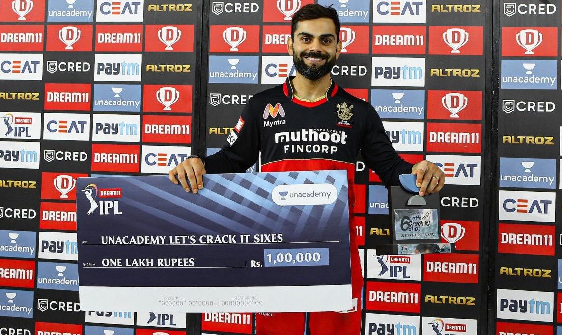 Virat Kohli won four awards for his match-winning knock against CSK | RCB Twitter