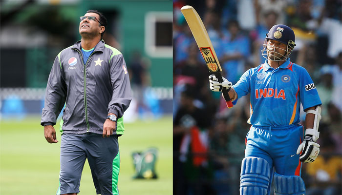 Waqar Younis backed up Sachin Tendulkar's call for changing rules to support bowlers