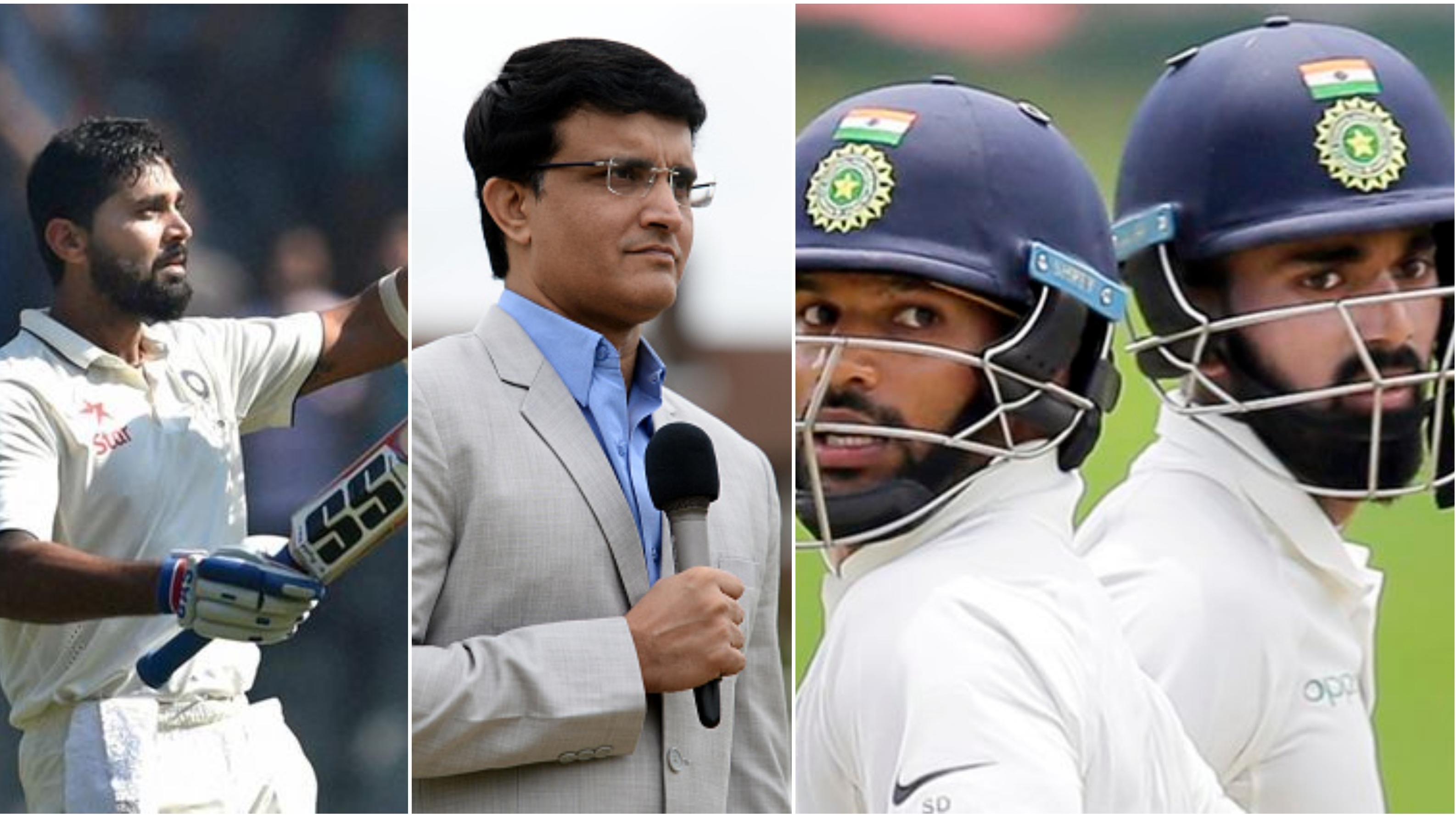 ENG v IND 2018: Sourav Ganguly picks India's opening pair for Tests against England