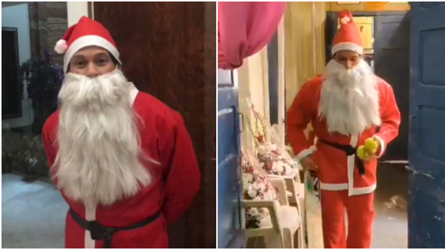 WATCH: 'Santa Claus' Sachin Tendulkar surprises underprivileged kids with gifts