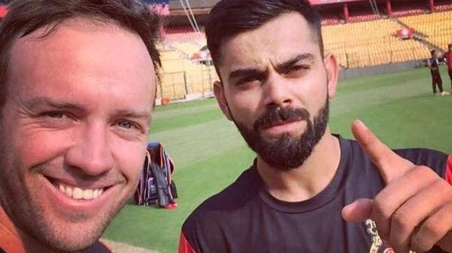 Twitterati roasts RCB for their request to NASA to find balls hit by Kohli and De Villiers