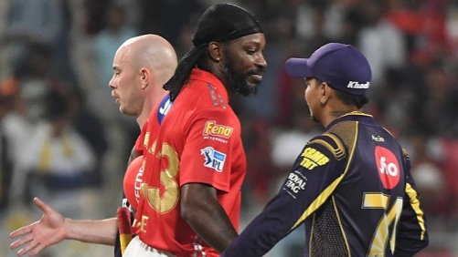 IPL 2018 : Match 18 , KKR vs KXIP - Statistical Highlights