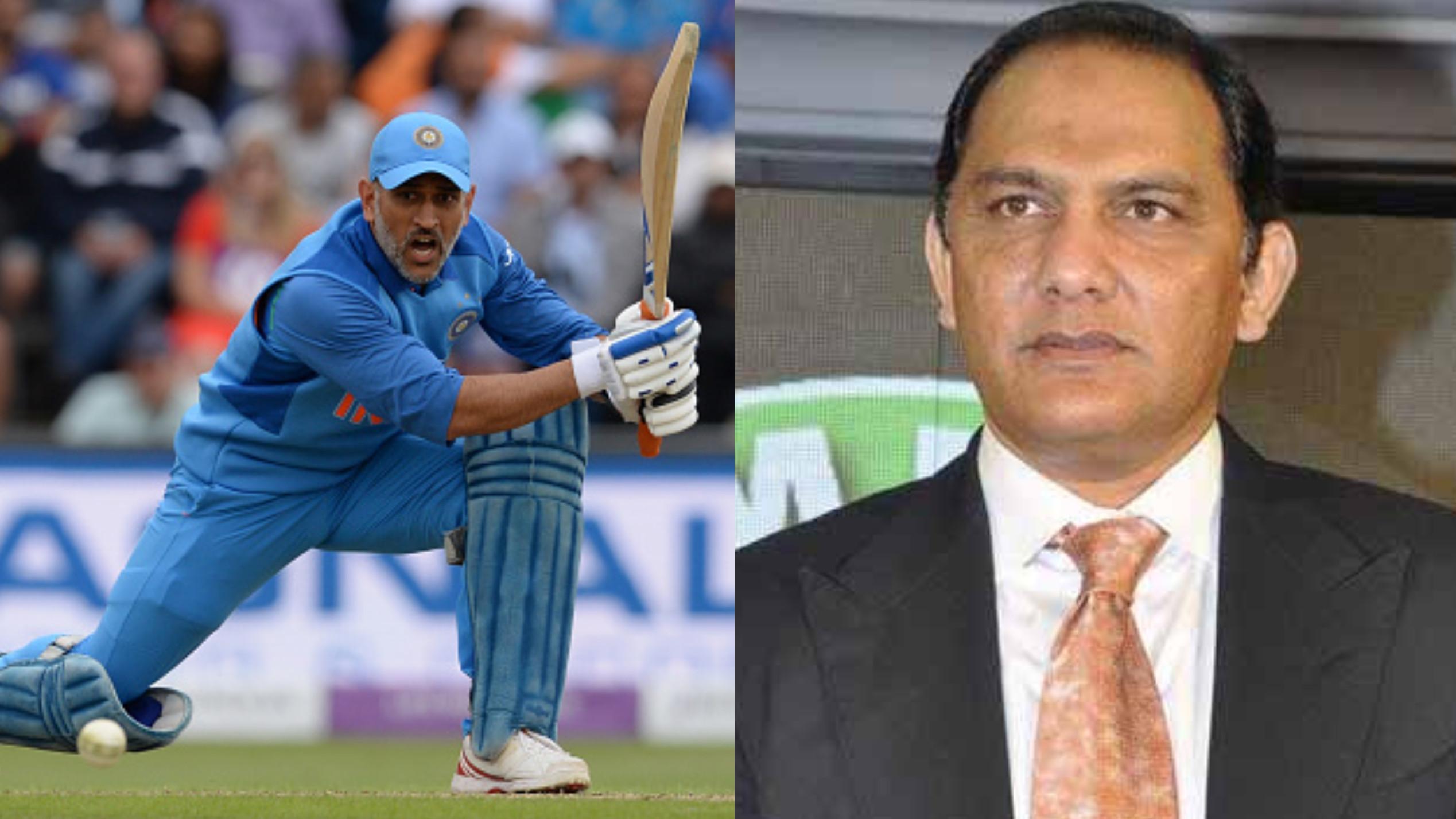 मोहम्मद अजहरुद्दीन के अनुसार एमएस धोनी 2019 विश्व कप में होंगे भारत के नंबर 1 खिलाड़ी