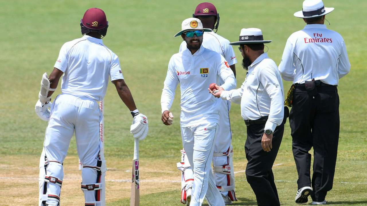 WI v SL 2018: Dinesh Chandimal denies ball-tampering allegations