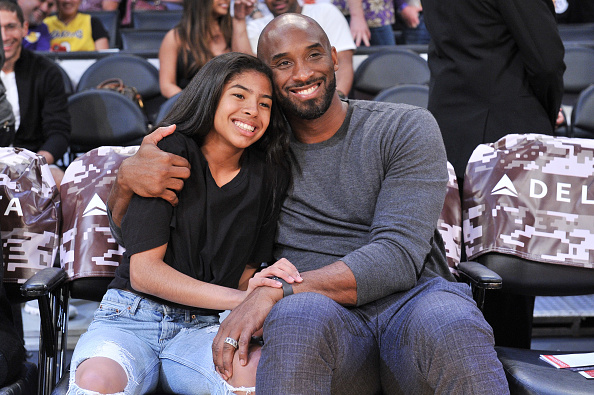 Kobe Bryant with his daughter Gianna | Getty