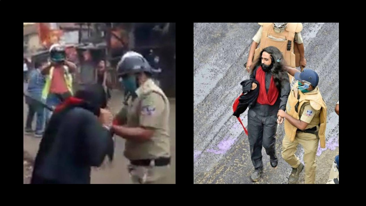 A Sikh man's turban was pulled off by cops in WB | Twitter