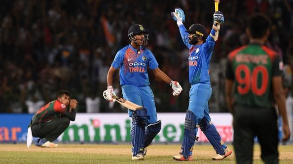 Nidahas Tri-Series 2018: Tendulkar, Sehwag, Yuvraj hail Dinesh Karthik after his last ball six