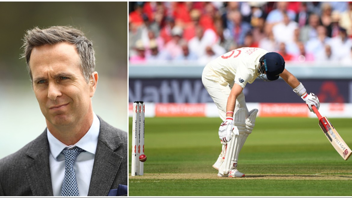 ASHES 2019: Michael Vaughan blames 'technique' for a below-par England batting performance