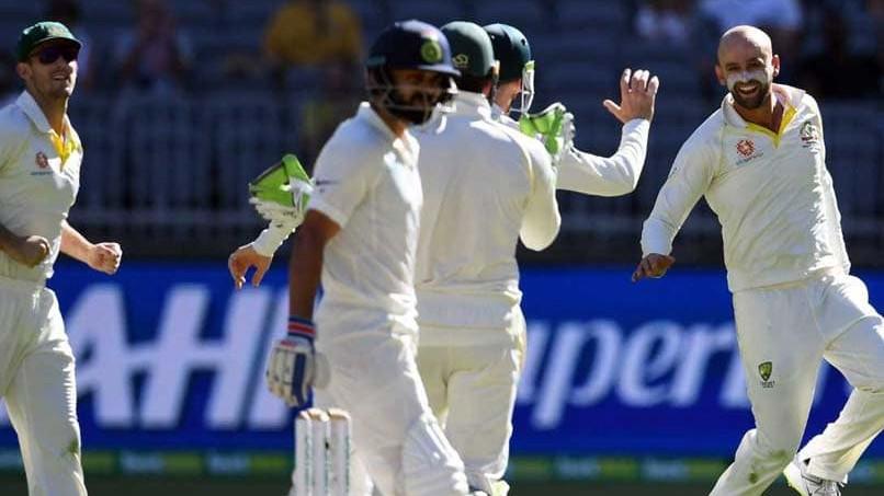 AUS v IND 2018-19: नाथन लियोन ने स्वीकार किया कि पर्थ टेस्ट में विराट कोहली का विकेट बहुत ही खास था