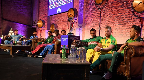 CWC 2019: Captains' imaginary pick in their World Cup side; Virat Kohli opts for Faf du Plessis