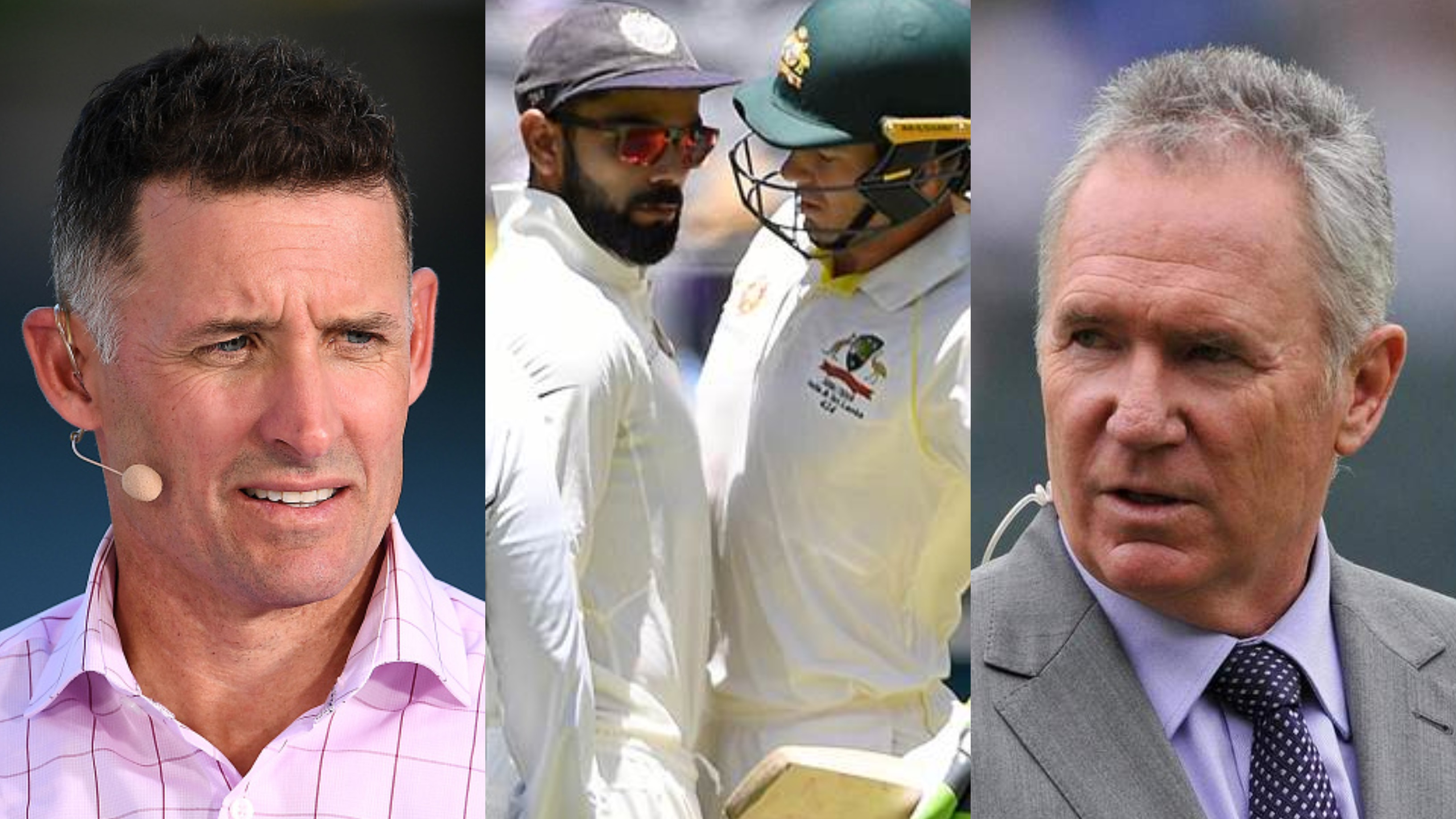AUS v IND 2018-19: Michael Hussey, Allan Border criticise Virat Kohli's on-field antics in Perth