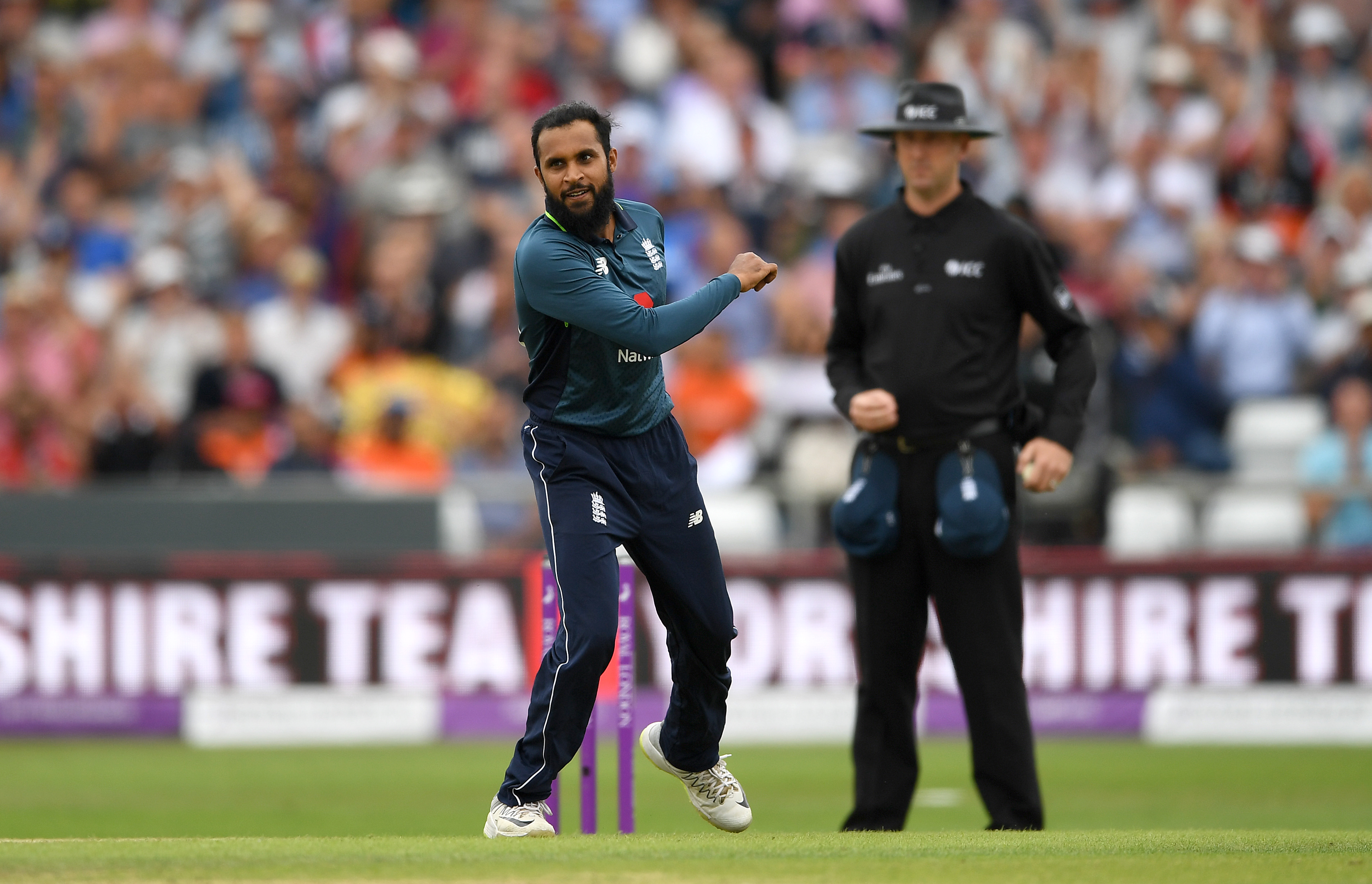 Adil Rashid proved to be the biggest nemesis for Indian batsmen | Getty