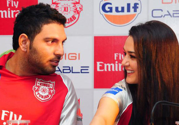 IPL 2018: KXIP co-owner Preity Zinta's heartwarming welcome to Yuvraj Singh
